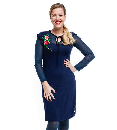 Tante Betsy Dress Paola Navy