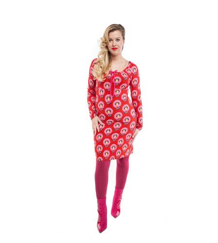 Tante Betsy Dress Carmen Frida Red