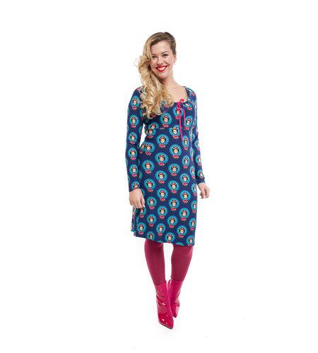Tante Betsy Dress Carmen Frida Blue