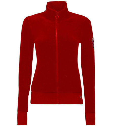 Tante Betsy Jacket Sports Nicky Solid Red