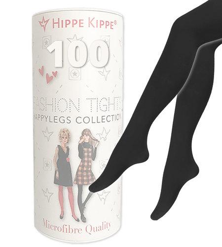 Hippe Kippe Fashion Tights 100 Denier Black