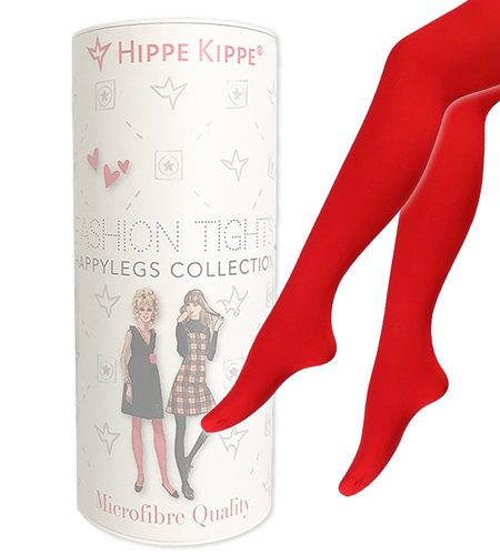 Hippe Kippe Fashion Tights 60 Denier Red