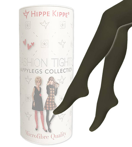 Hippe Kippe Fashion Tights 60 Denier Military Olive