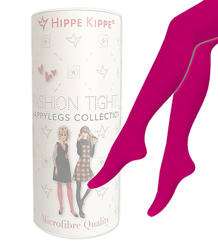 Hippe Kippe Fashion Tights 60 Denier Fluor Pink