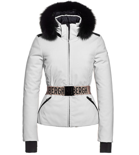 Goldbergh Hida Jacket Fake Fox Fur White