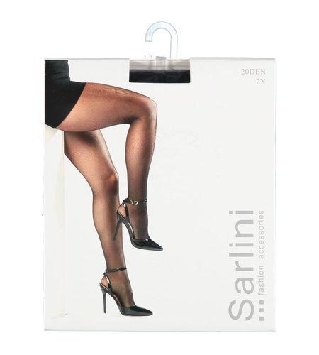 Sarlini Panty 20 Den 2-pack Black