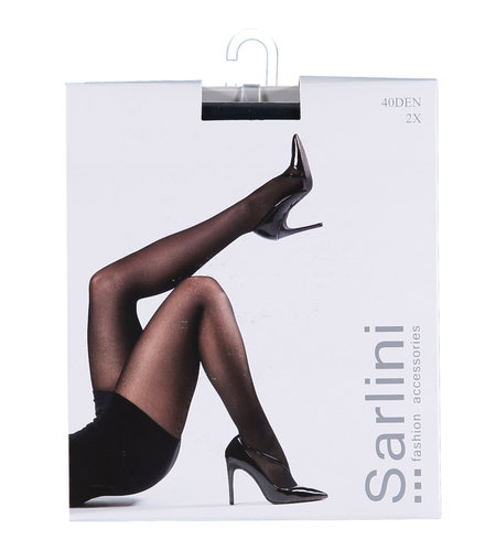 Sarlini Panty 40 Den 2-pack Navy