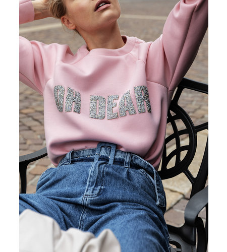 Goldbergh Oh Dear Sweater Powder Pink