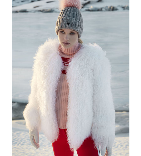Goldbergh Cristina Beanie Powder Pink