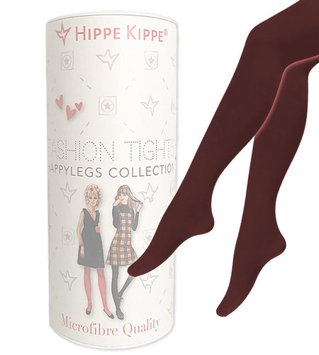 Hippe Kippe Fashion Tights 60 Denier Burgundy