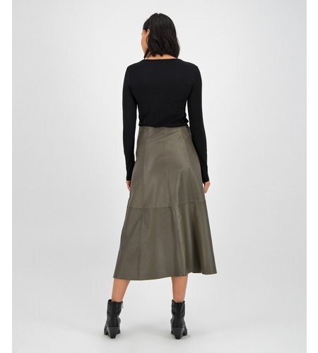 Goosecraft Merrith Skirt Shocked Olive