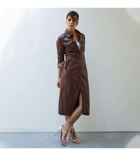 Goosecraft Freedomfire Dress Rodeo Brown
