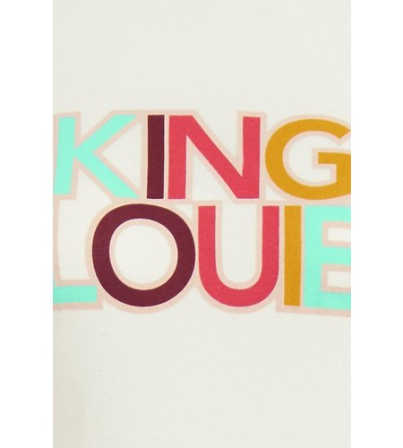 King Louie Logo Tee Marshmellow