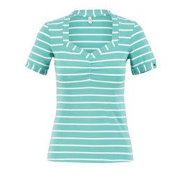 Blutsgeschwister Logo Stripe T-Shirt