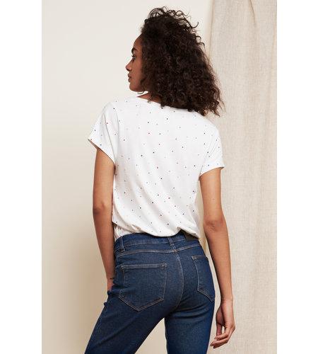 Fabienne Chapot Kris Embro T-Shirt Off White