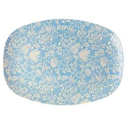 Rice Rectangular Melamine Plate