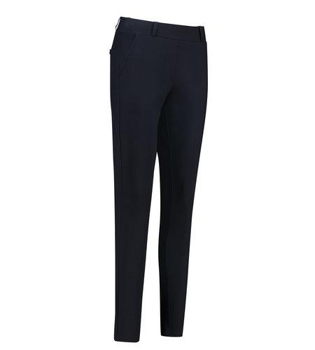 Studio Anneloes Flo Bonded Trousers Dark Blue