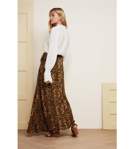 Fabienne Chapot Bobo Skirt Toffe Brown Black