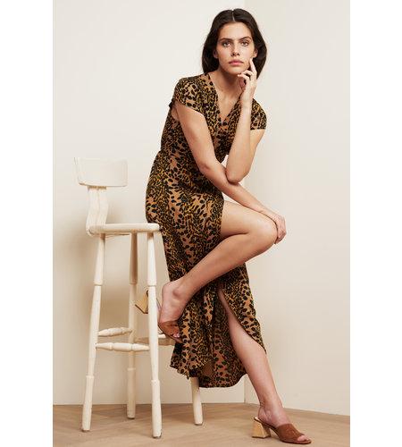 Fabienne Chapot Archana Dress Toffee Brown Black