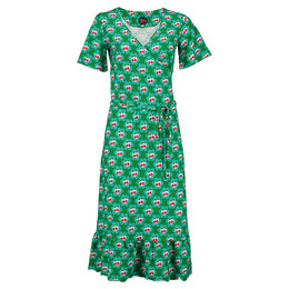Tante Betsy Hippie Dress Cherrie in Blossom Green