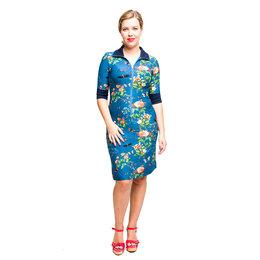 Tante Betsy Dress Sports Vintage Garden Blue