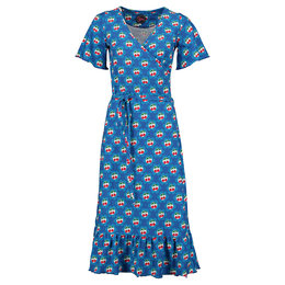 Tante Betsy Hippie Dress Cherrie in Blossom Blue