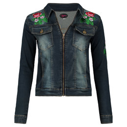 Tante Betsy Denim Jacket Zipper Patch
