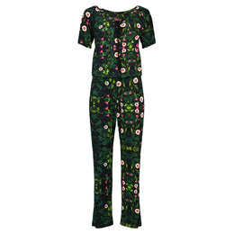 Tante Betsy Carmen Jumpsuit Secret Garden Black