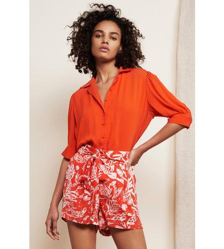 Fabienne Chapot Emma Noa Solid Blouse Cool Coral