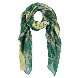 Birds On The Run Scarf With Parrot Design