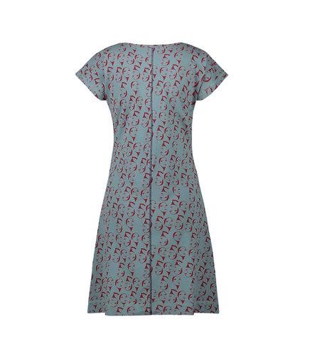 IEZ! Dress Face Jersey Print-172