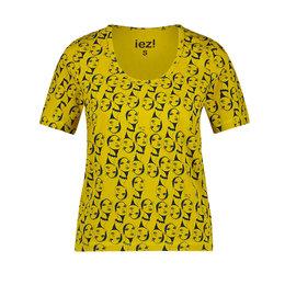 IEZ! Shirt Face Jersey Print