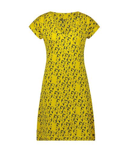 IEZ! Dress Face Jersey Print-835