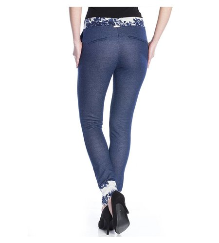 Vive Maria Faded Pants Dark Blue