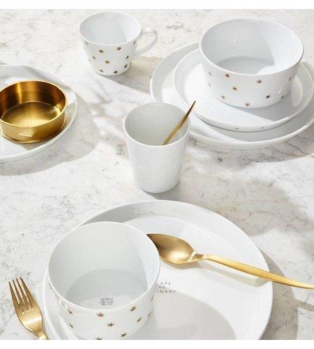 Fabienne Chapot Breakfast Plate 21 cm White Stars