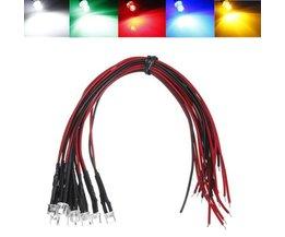 LED met Kabel 5 Stuks