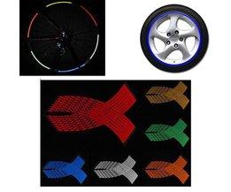 Wiel Stickers voor Autobanden in Meerdere Kleuren