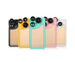 Lens voor iPhone 6 Camera inclusief Hoesje