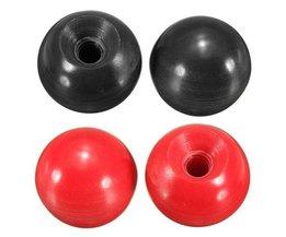 Kogelknop voor Poken of Machines in het Rood of Zwart