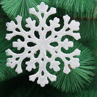 Sneeuwvlok-Ornament voor in de Kerstboom