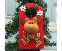 Hangende kerstdecoratie in verschillende motieven