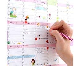 Muurkalender 2016