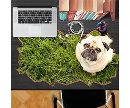 Bureauonderlegger met Hond
