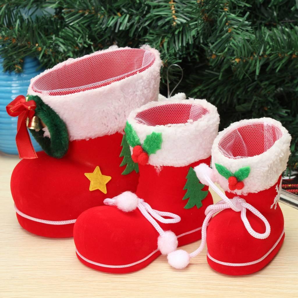 Kerstlaars Om Snoep En Kleine Cadeautjes In Te Doen Kopen I Seoshop Nl Tip