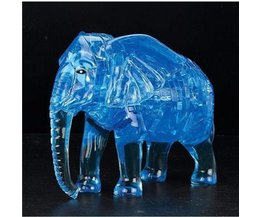 Kristal Puzzel 3D Olifant 41Stukjes