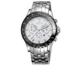 Horloge met Zwarte of Zilveren Band