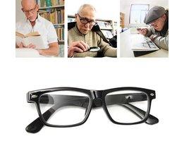 Zwarte Leesbril In Verschillende Sterktes