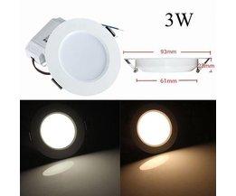 Plafond Licht LED 3W