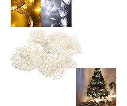 LED Kerstslingers met hartjes