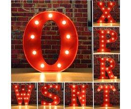 Metalen Letter Met LED Verlichting